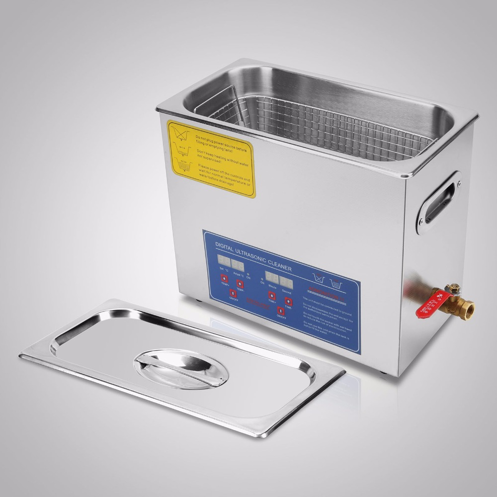 VEVOR Dual-frequency Car Mate 6l Ultrasonic Cleaner Machine