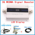 Direct Marketing FULL SET LCD Booster Display 3G Repeater 2100MHz Signal Booster Amplifier Signal Repeater Amplifier 1sets