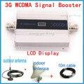 Melhor Preço! W-CDMA 2100 MHz 3G Repetidor de Sinal de Telefone Móvel 3G WCDMA Signal Booster Celular Repetidor Amplificador + Antena