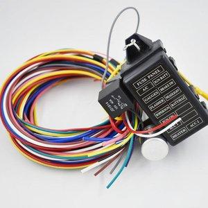 12 контурных универсальных жгутов проводов для мышечной машины хот-шток для уличного стержня XL провода для SI-AT52001 прочные провода