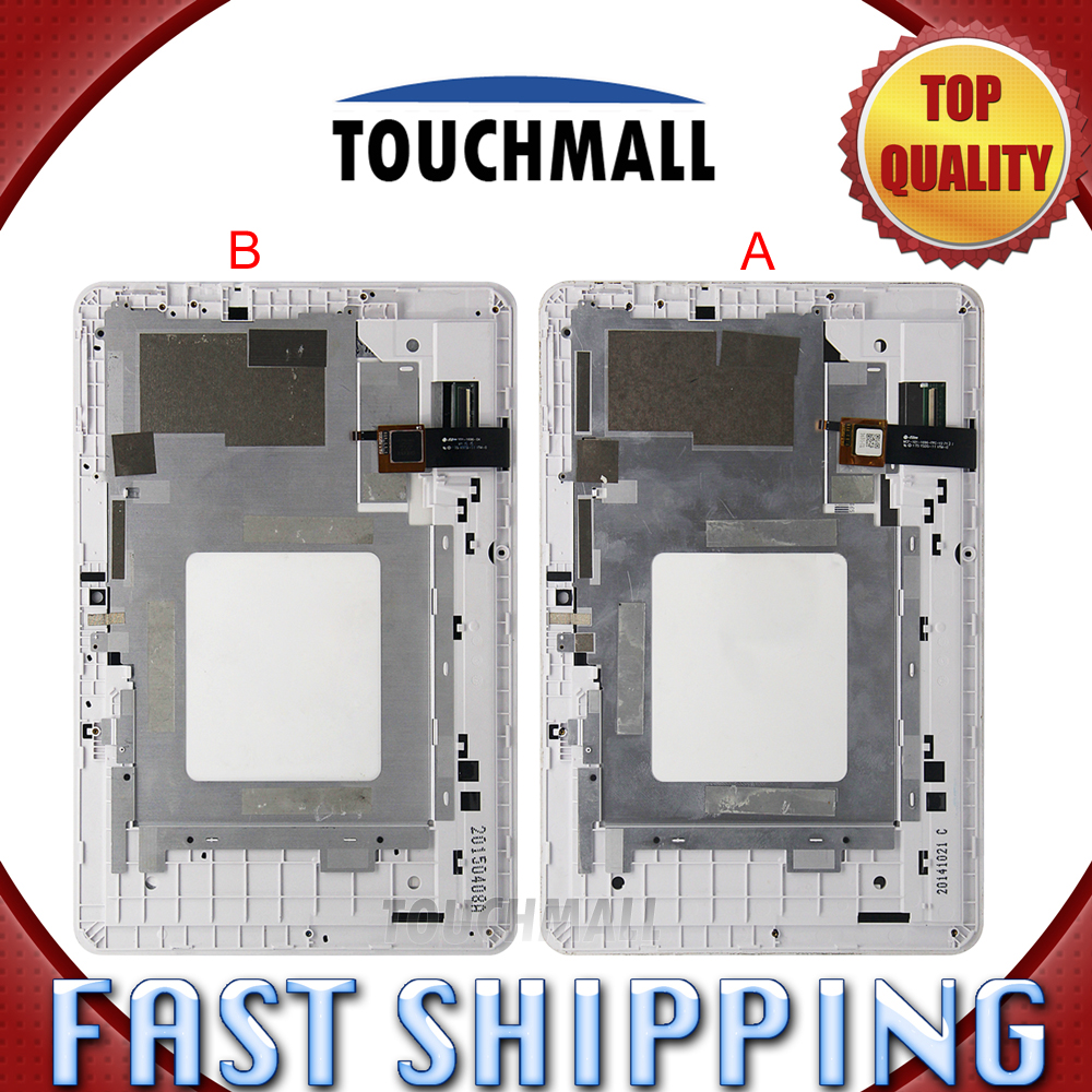 For New LCD Display Touch Screen with Frame Assembly Acer Iconia A3-A20 A3 A20 MCF-101-1696-FPC-V2 101-1696-04 V1 Free Shipping new 10 1 inch for acer iconia tab 10 a3 a20 a20 lcd display with touch screen panel digitizer sensor assembly free shipping