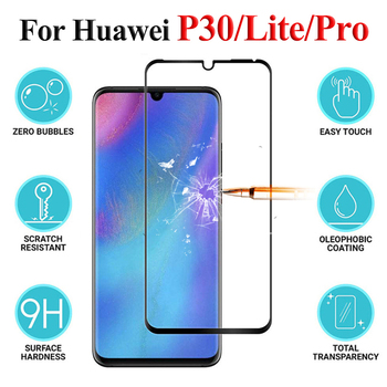 Protective Glass On P30 Lite Pro Tempered Screen Protector For Huawei P 30 Light 30p P30pro P30lite Huawey Safety Verre Tremp Hd image