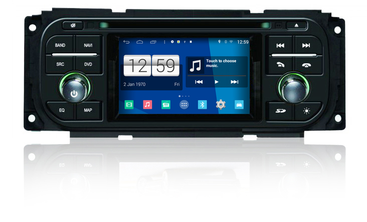 S160 Android Car Audio FOR JEEP 300M Ram pick up Sebring convertible car dvd gps player