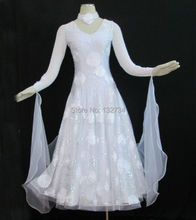 Modern Waltz Tango Ballroom Dance Dress, Smooth Ballroom Dress,Standard Ballroom Dress Girls B-0230