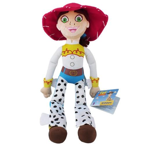 "Pixar Toy Story 3 Plush 15.6"" JESSIE Doll Woody & Bullseye"