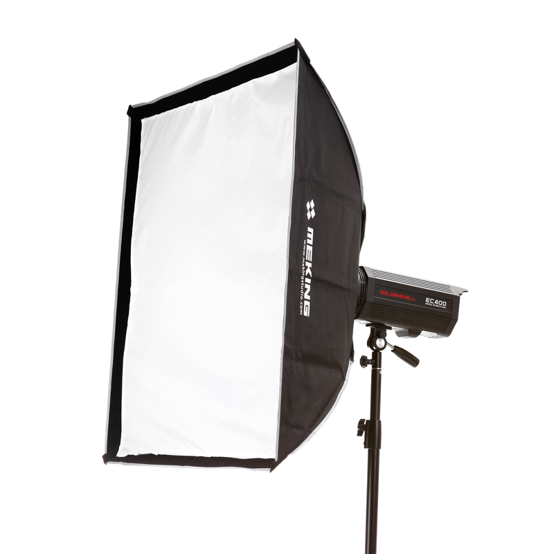 купить Meking Flash Softbox  80cm * 80cm Bracket Mount Kit for Flash Speedlite Studio Shooting онлайн