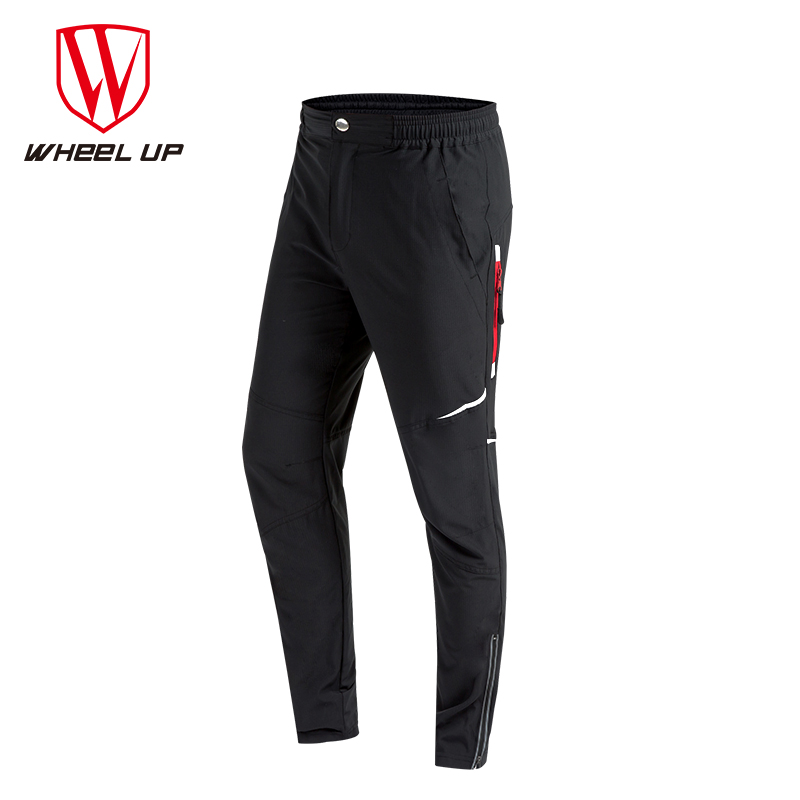 цены WHEEL UP Spring Autumn Men Cycling Pants Long Sport Bike Pants Quick Dry Anti-sweat Breathable Bicycle Trousers Cycling Clothing