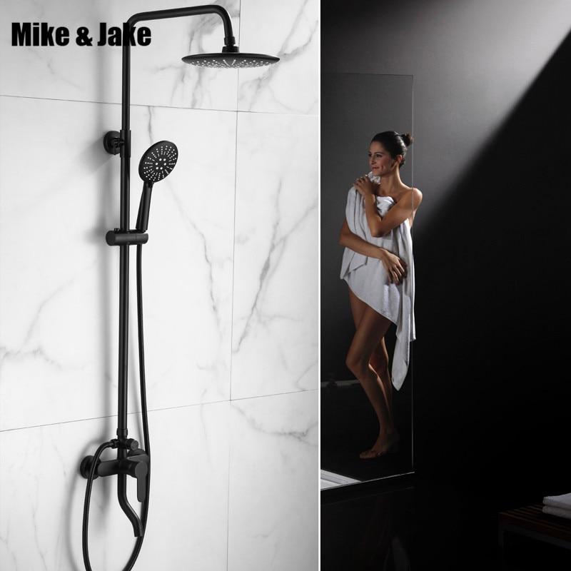 bathroom matte black shower set mixer with shower black shower set bathroom luxury black shower faucet bathtub faucet sets