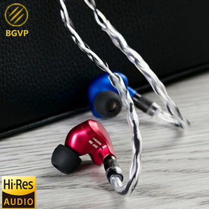 Image 3 - NEW BGVP DMG 2DD+4BA Hybrid In Ear Earphone Metal High Fidelity Monitor With Detachable MMCX Cable And Three Nozzles