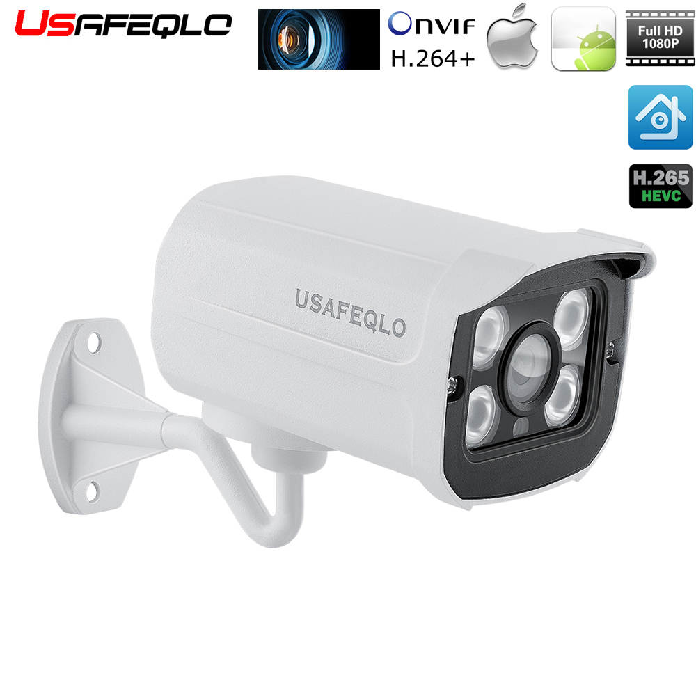 HD IP Camera 1080P 960P 720P Bullet Cam 2MP Lens IR IP CCTV Security Camera Network Onvif P2P Motion Detected XMEye View POE
