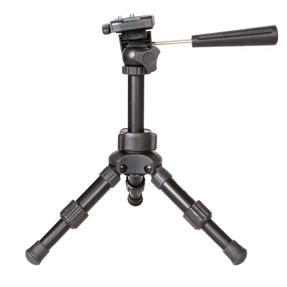 Image 2 - XILETU XB 2 Panoramic Portable Mini Tabletop Tripod For Digital Camera With Three dimensional Tripod Head-in Tripods from Consumer Electronics