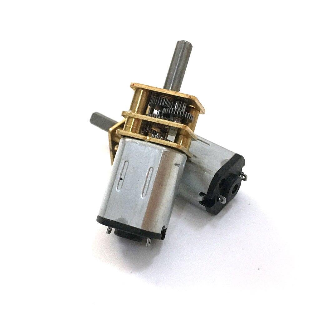 1pcs EBOWAN N20 Micro Motor Electric Gear Box Motor 3v 6v 12v 15/30/50/60/100/200/300/500/600/1000rpm