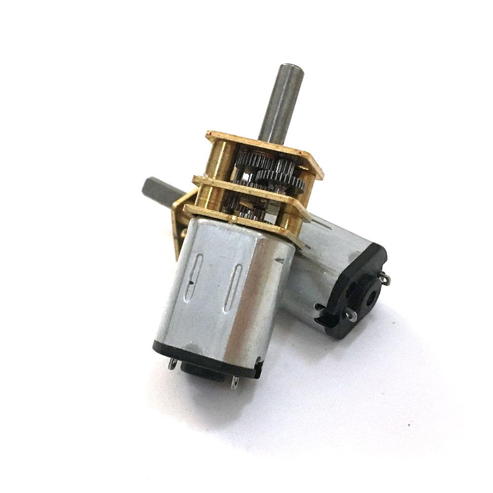1 pces ebowan n20 micro motor geaed elétrico 3v 6v 12v 15/30/50/60/100/200/300/500/600/1000rpm