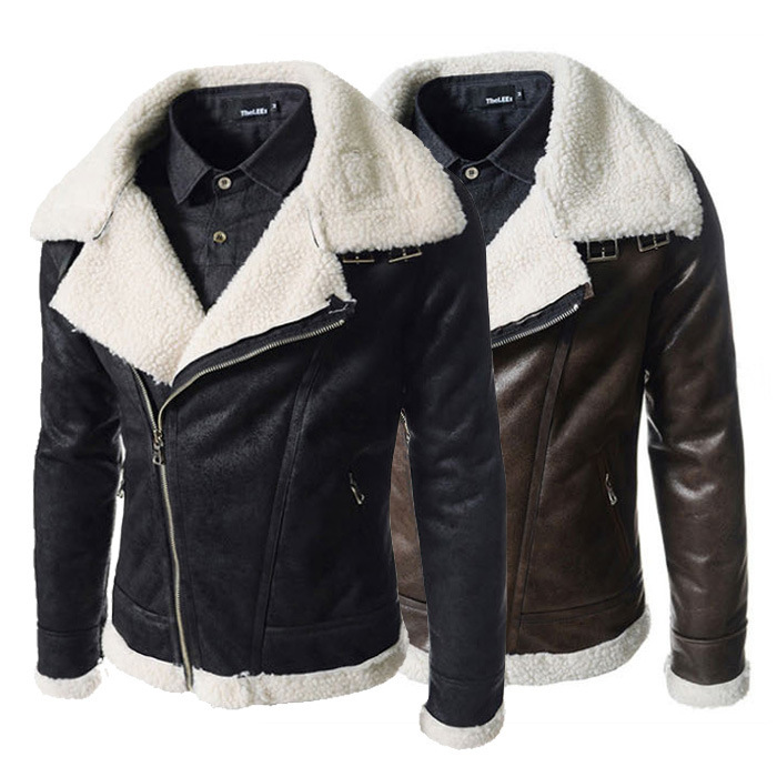 Mens Leather Winter Jackets ezBhVP