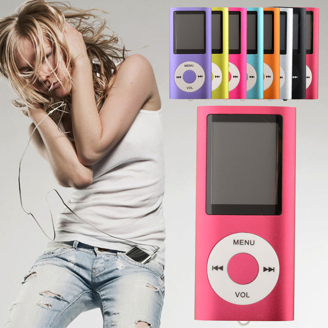 2016 New Slim Mini Colorful Digital MP3 MP4 Player LCD Screen with FM Radio Video Games Movie Support 7 Language #ET830