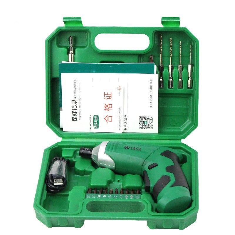 LAOA 3,6 V kaasaskantav elektrikruvikeeraja laaditav akuga - Elektrilised tööriistad - Foto 5