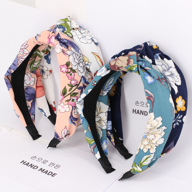 Headwear 1 PC Seconds Sale Headbands Hairbands for Women Floral Faric Elastic Hair bands Hair Accessories for Women DPSaiLYY