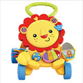 Infant Lion Walker Multifunctional Baby Music Walker Kids Toddler Stroller Lions Trolley Children Toys 1-3 Years Old