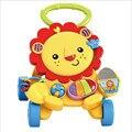 León bebé Multifuncional Walker Música Andador Niños Niño Cochecito Carro de Leones Niños Juguetes 1-3 Años de Edad