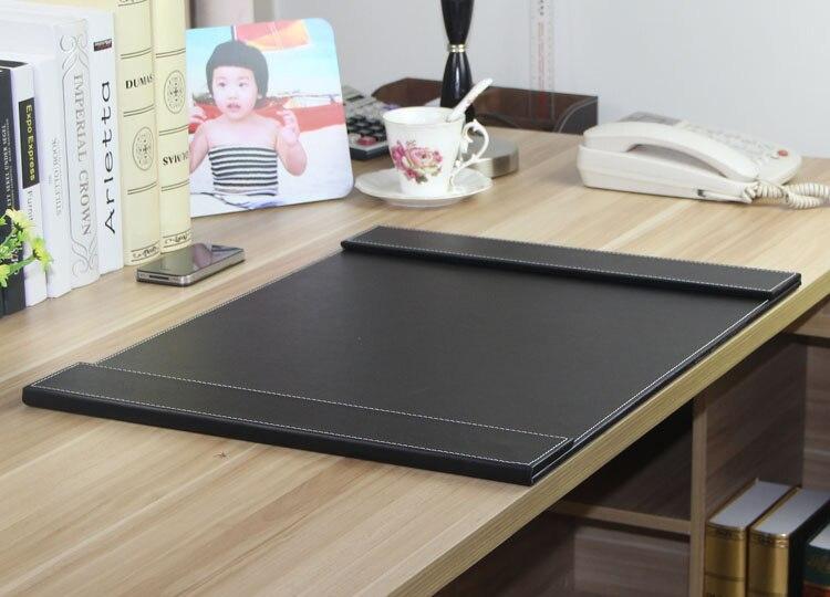 60x45cm wood PU leather boss office desk writing board mat  : 60x45cm wood PU leather boss office desk writing board mat with double paper clips folder keyboard from www.aliexpress.com size 750 x 540 jpeg 126kB