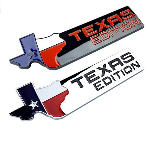 Dsycar 3D Abs TEXAS EDITION Car Sticker Emblem Badge for Universal Cars Motorcycle Decorative Accessories dsycar 3d metal sport car sticker emblem badge for for universal cars motorcycle car styling decorative accessories chevrolet ds