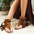 New Arrival Shoes Woman Fringe Sandals Casual Zapatos Mujer Rome Sandalias Mujer Fashion Chaussure Femme Flats Sandalia Feminina