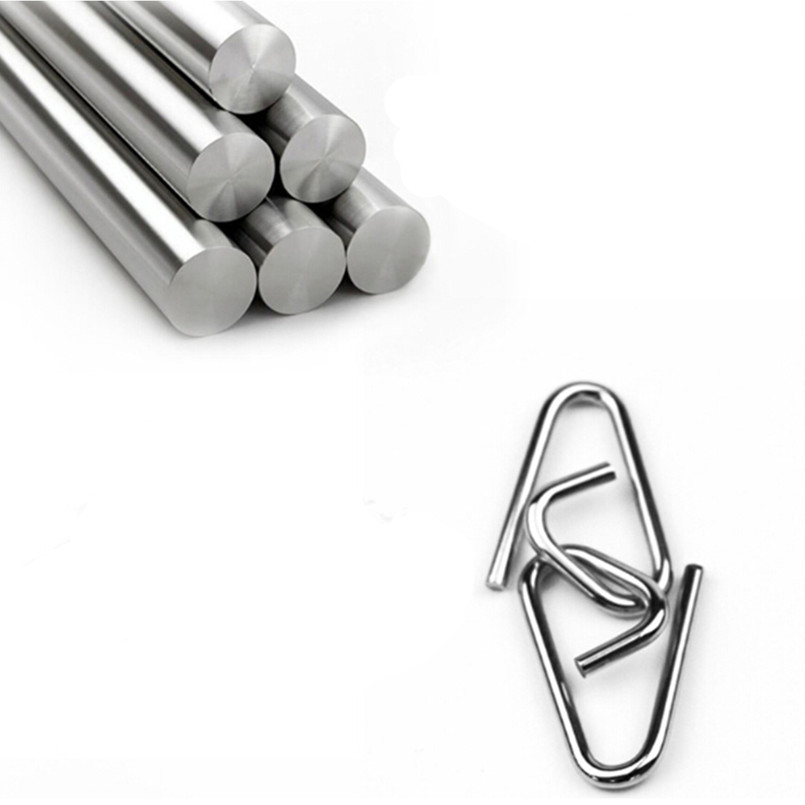 22pcsset Metal Wire Puzzle Iq Mind Brain Teaser Puzzles For Adults