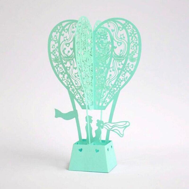 10 piece/lot)Hot Air Balloon Lover Postcards Creative Wedding Gift ...