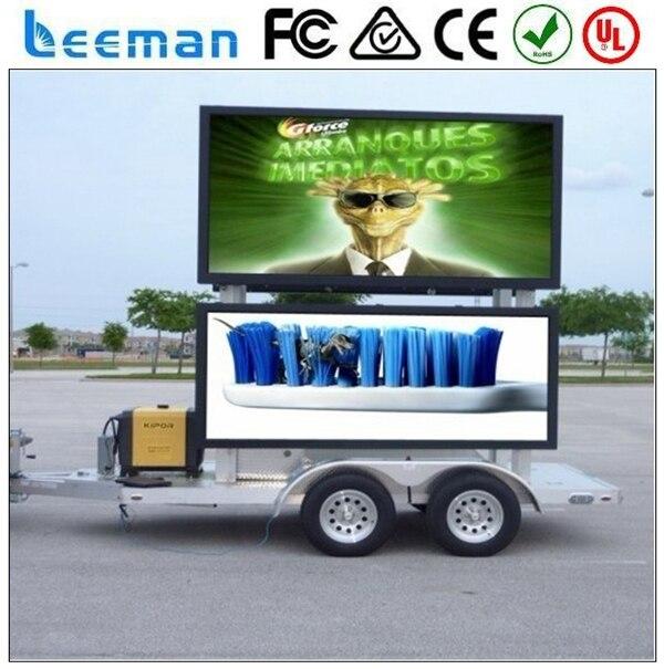 Sinosky СВЕТОДИОДНЫЙ mobile truck displayer Leeman ТЕЛЕВИЗОР щиты панель занавес экран sign monitor плате модуля mobile truck LED display