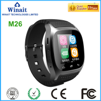 Winait 2017 Popular M26 Smart Watch With 1 4 TFT LCD Display Synchronize Phone Book Bluetooth