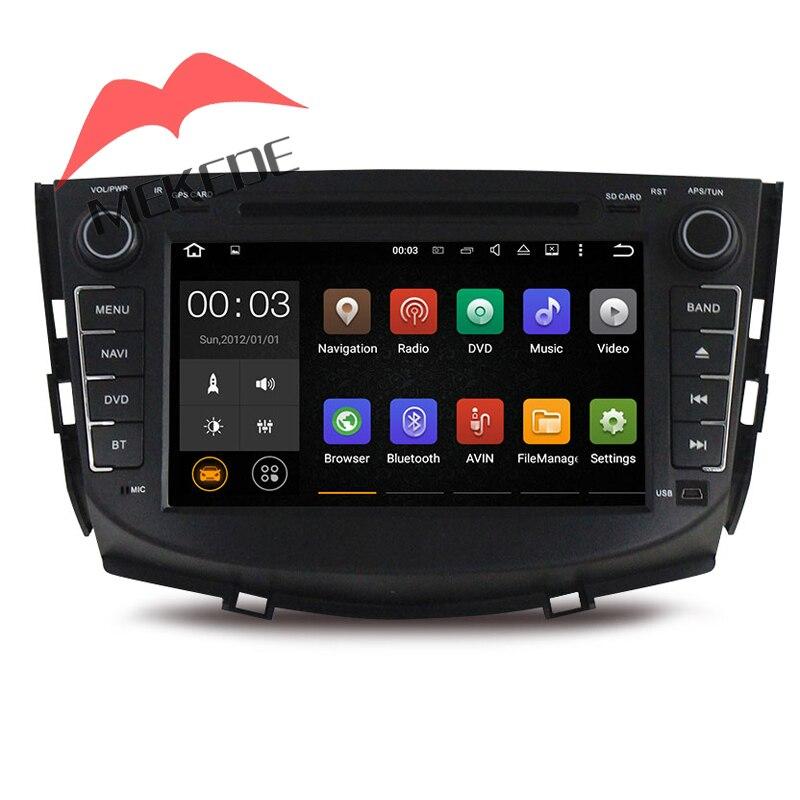 Russe menu Hébreu menu Android7.1 voiture radio cassette Autoradio pour Lifan X60 avec DVD GPS navigator Bluetooth Ipod SD USB