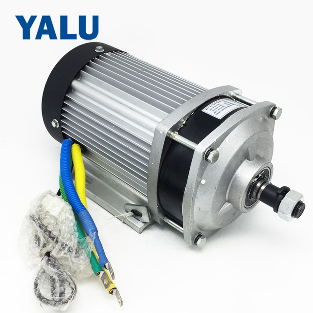 Bm1424zxf 2 2kw 60v 72v Electric Gokart E Bicycle Brushless Dc Motor Geared 585 600rpm Atv Buggys Cargo Trike Engine
