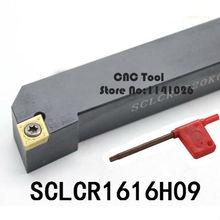 SCLCR1616H09/SCLCL1616H09 металлический токарный станок Режущий инструмент токарный станок токарные инструменты с ЧПУ внешний токарный инструмент держатель s-типа SCLCR/L