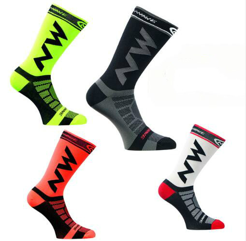 Unisex  Professional Brand Sport Socks Breathable Road Bicycle Socks Outdoor Sports Racing Cycling Socks