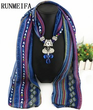 [RUNMEIFA] Hot Sale Fashion Bohemian Cheap Colorful Rhinestone butterfly Animal Pendant Long Print Chiffon Women Scarves