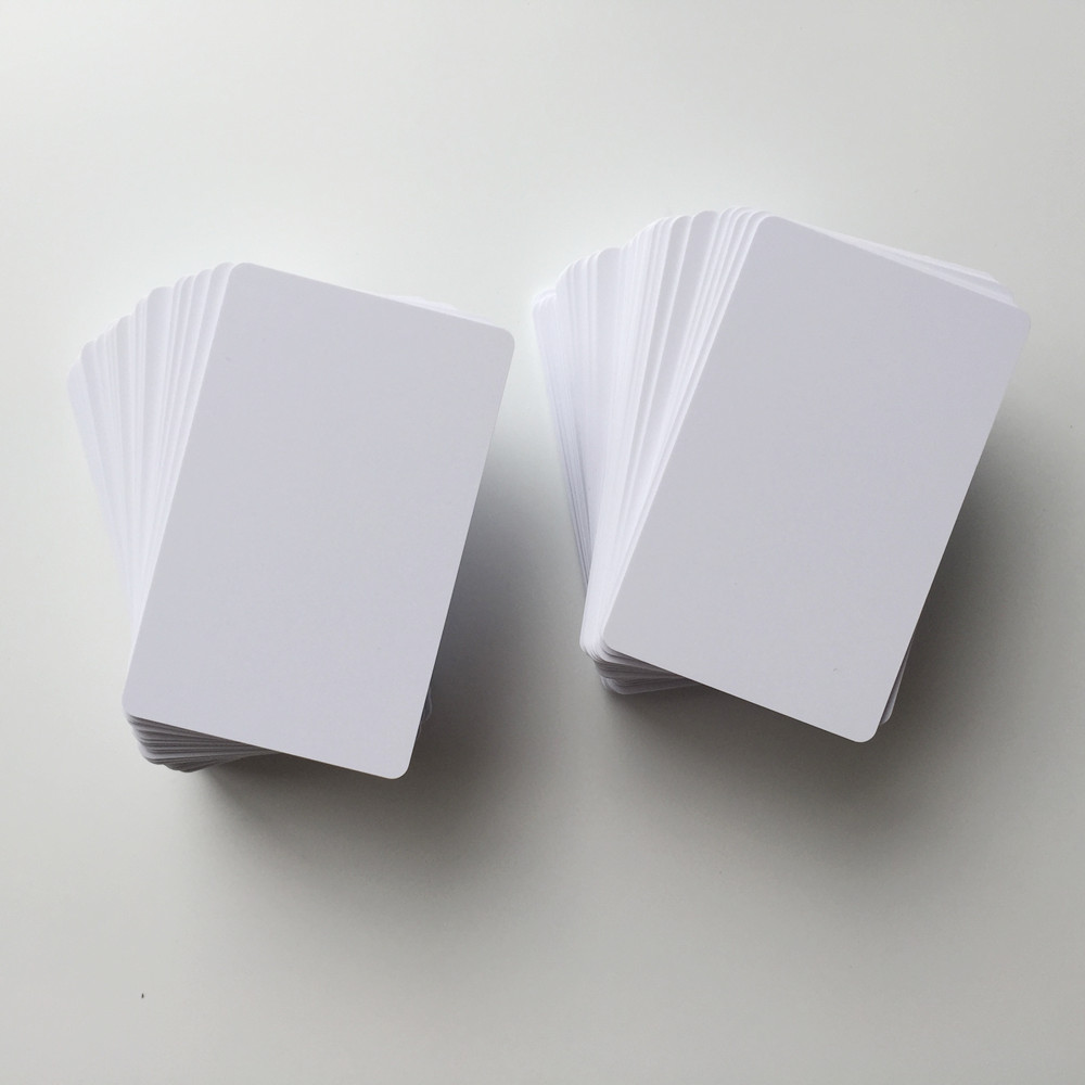 blank inkjet pvc card for Epson or Canon printer