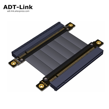 Riser PCIE Gen3.0 16x to 16x 128G/bps female to female Graphic card pci e PCI-E pci express riser card x16 to x16 Extender cable