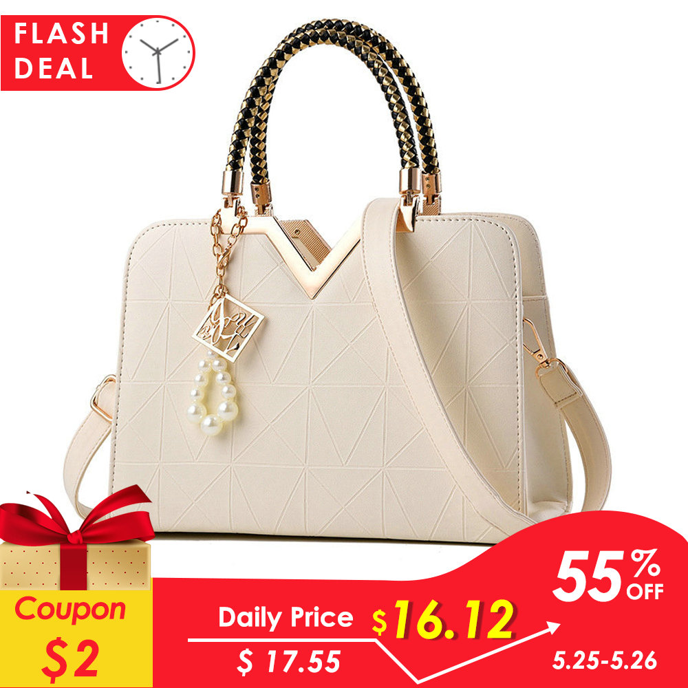 2019 New Summer Female Bag For Ladies Phone Pocket Zipper Woman Handbags Flap Famous Brand Leather Women Shoulder Crossbody Bags-in Shoulder Bags from Luggage & Bags