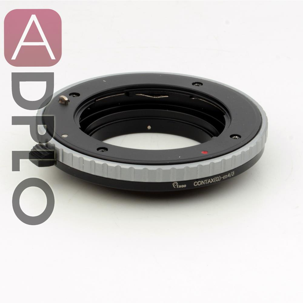 Pixco Lens Adapter Ring Suit For Contax G lens to Micro 4/3 M4/3 G3 GH3 GF3 E-PL3 E-PM1 E-P3 GF2 GX1 G5 OM-D E-M1 E-M5 Camera