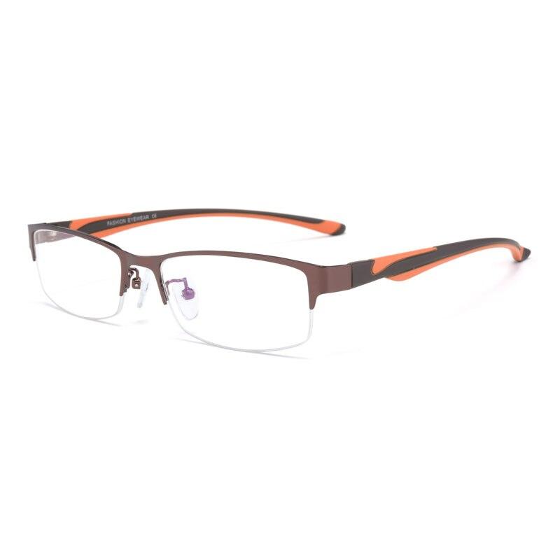 161a688e54acd Reven Jate Fashion High Quality MEN Titanium alloy Eyeglasses Non spherical  12 Layer Coated lenses reading