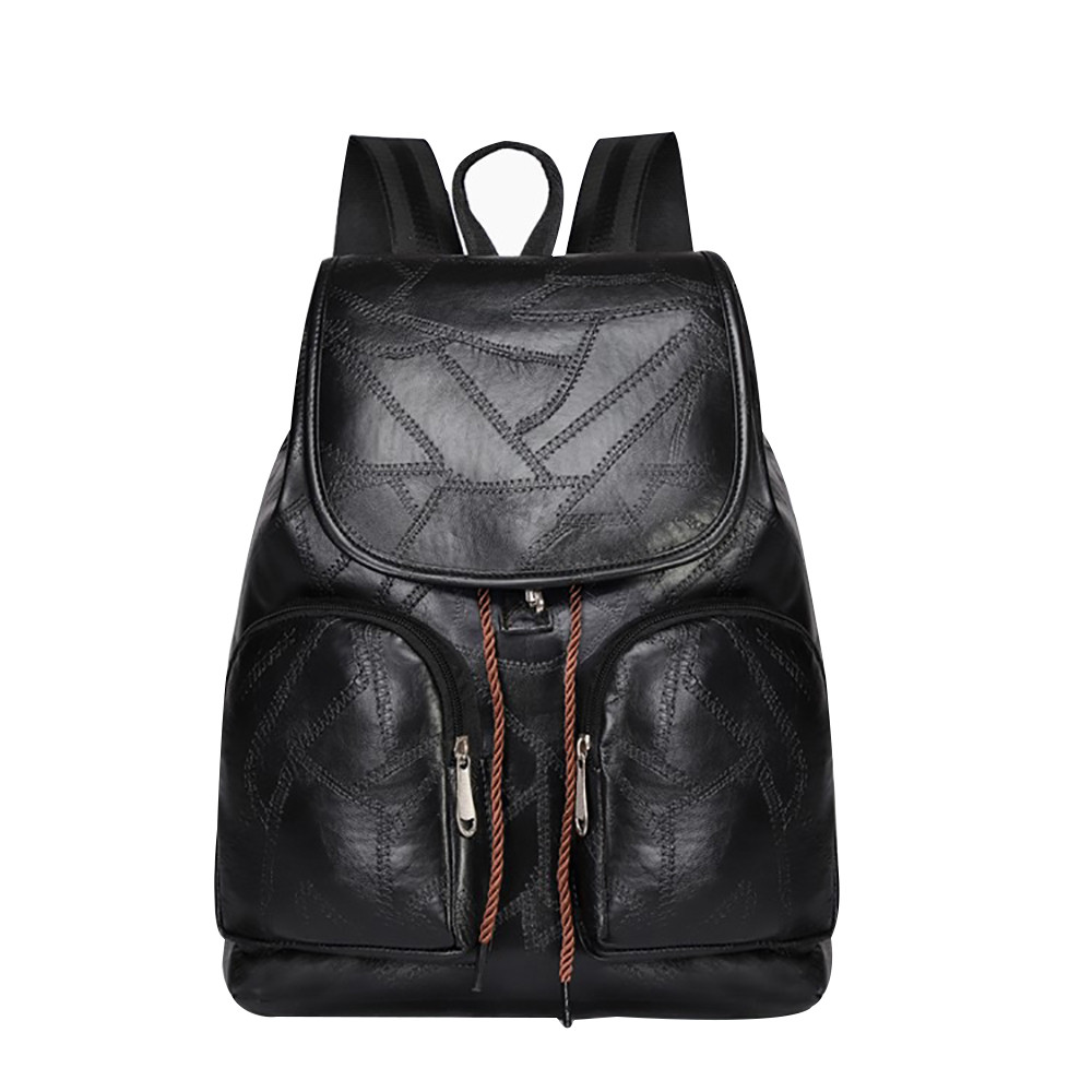 Women Casual Nylon Couple Backpack Girl Simple Versatile College Campus Backpack Student travel Backpacks bolso mujerB1122