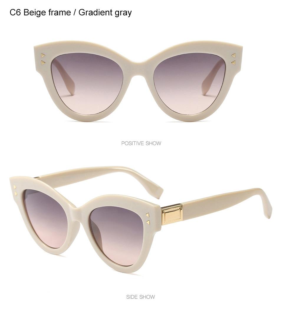98cd45034ed WINLA BRAND DESIGN Classic Latest Women Cat Eyes Sunglasses Luxury Fashion  Sun Glasses Retro Glasses UV400 Lens Goggles WL1227