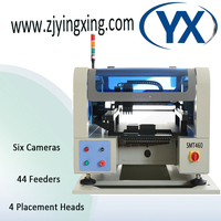 44 Feeders Stencil Printer Machine Pick and Place SMT SMD Components with High end Configuration/ Servo Motor/ Camera Supplier