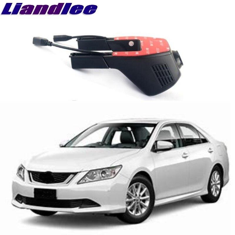 Liandlee pour Toyota Aurion XV40/Camry/TRD Aurion 2006 ~ 2012 enregistrement de route de voiture WiFi DVR caméra de tableau de bord conduite enregistreur vidéo