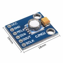 1PC MS554 MS5540-CM 10-1100mbar Digital Pressure Sensor Module 16bit DC 2.2V-3.6V 100 Meters Waterproof Module Wholesale