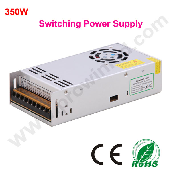 350w dc switching power supply 220 volt 24 volt transformer 1pcs free shipping high quality ac
