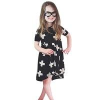 BS S 2016 Spring Summer Style Dresses For Girl Cross Tutu Dress Outfits Formal Girl Dresses