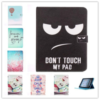 For Apple IPad 2 3 4 Case Beautiful Cute Print Cover For IPad3 Stand PU Leather