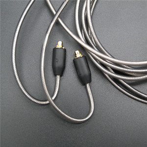 Image 2 - DIY ie800 headphone cable   Single crystal copper wires, 14 core X4 high end   earphone cable mmcx