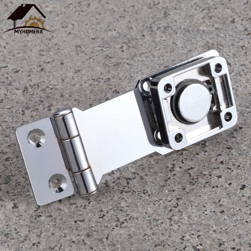 Myhomera Silinder Kunci Pengait Inti Tembaga Diri Penguncian Keamanan Pokok 2 Kunci Gudang Lemari/Laci/Gembok Pintu/ gerbang/Van Locker